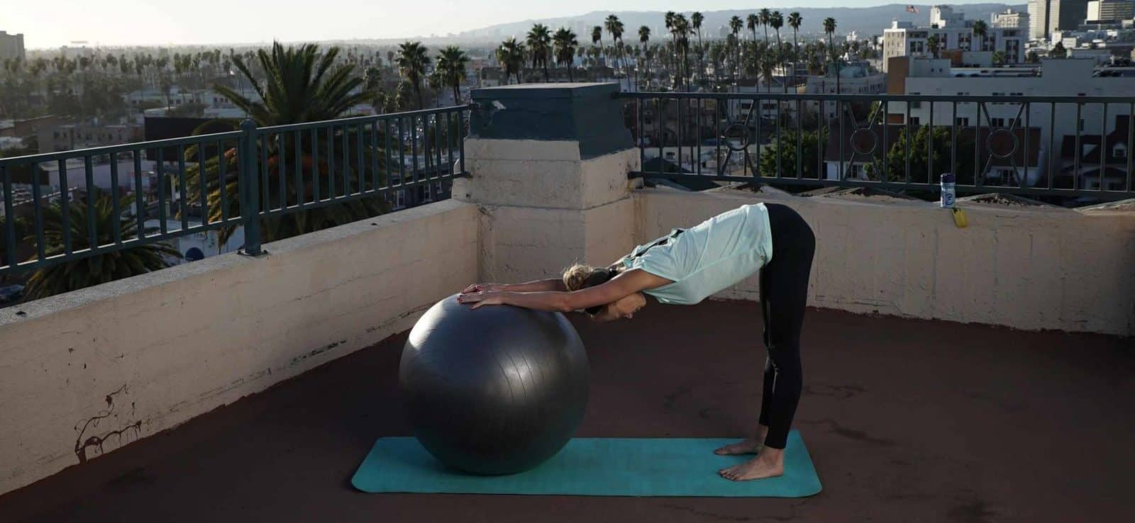 Stretching during pregnancy